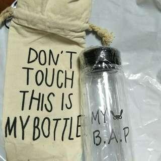 My B.A.P water bottle