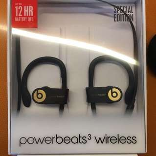 Powerbeats 3 Bluetooth Wireless Gold Special Edition
