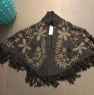 日本品牌Zampa 斗篷毛衣
