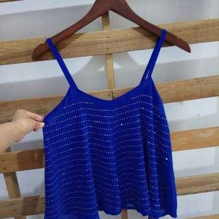 Valley girl glam top