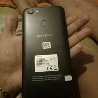Oppo F5 Matte Black. Complete package