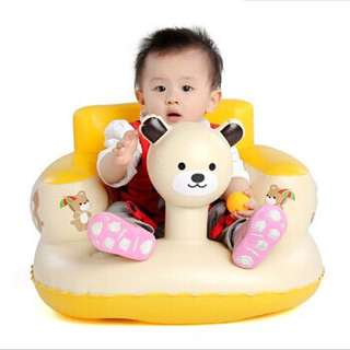 Like New Baby Toddler Inflatable Sofa Chair seat not bumbo chair