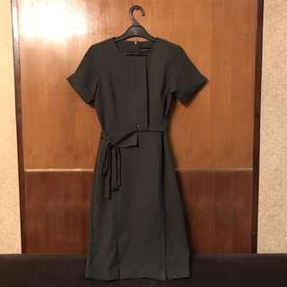 Hijau army dress