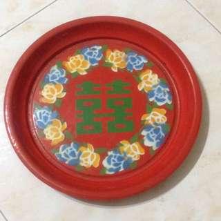 Vintage Enamel Plate