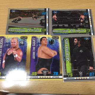 WWE Slam Attax 10th Edition Assorted Card