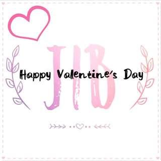 JIB Shop 祝大家情人節快樂~