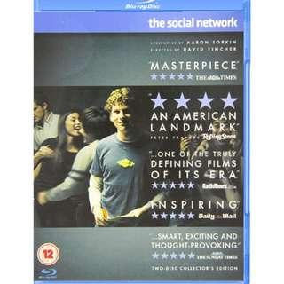The Social Network (Blu-ray region free)