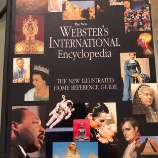 Webster's International Encyclopedia