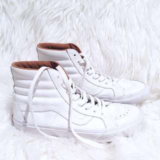 VANS White High Top Shoes Sneakers