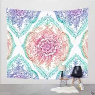 Tapestry wall hanging print
