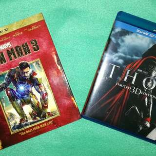 Thor (Limited 3D Edition) | Iron Man 3 (3D)