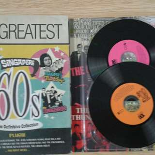 """A rare """"SINGAPORE 60's DEFINITIVE COLLECTION"""" of 100 songs by local artists : Crescendos, Thunderbirds, Checkmates, Silver Strings, Jets, Cyclones, Noami & The boys, Wilson David, Shirley Nair, Veronica, Moonglows, Dukes, and many more ! Collectibles."""
