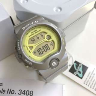 Casio Baby-G BG6903-8 (Warm Silver Yellow Lime)