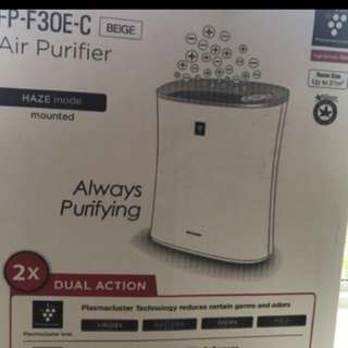 Sharp air purifier - perfect condition!