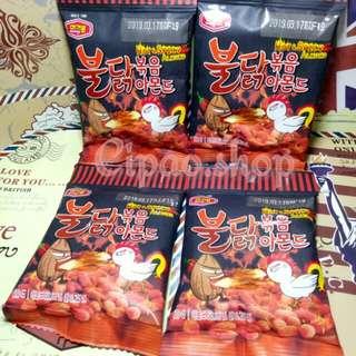 Snack Korea Hot Spicy Almond 30gr
