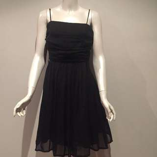 Beautiful! REVIEW Black Silk Dress