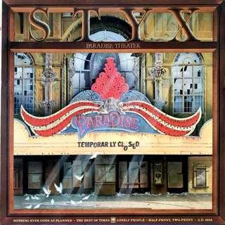 Styx Vinyl Record