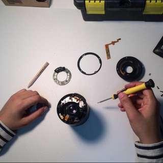 Auto focus repair for Canon EFS 18-55mm kit lens
