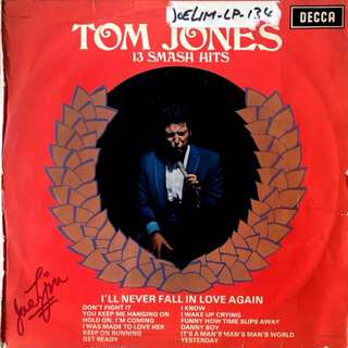 Tom Jones Vinyl Record