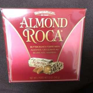 樂家杏仁糖鐵罐禮盒裝340g Almond Roca