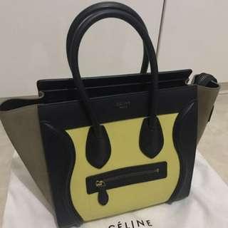 Céline Micro Luggage Tote