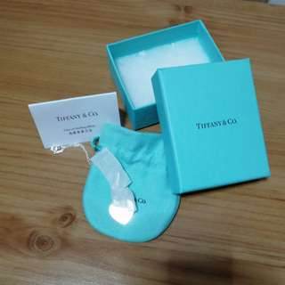 Return to Tiffany Necklace with receipt for exchange