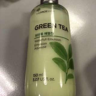 PRELOVED! TFS Green Tea Waterfull Emulsion