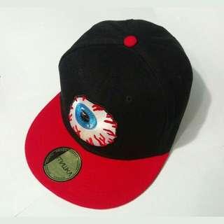 眼球棒球帽