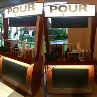 Coffee Cart for Parties
