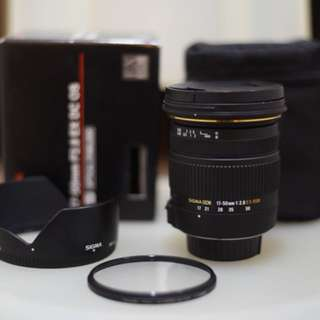 SIGMA 17-50mm f2.8 OS (Nikon)