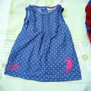 dress baby girl polo