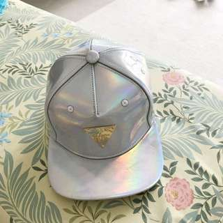 Authentic Brand New Hater Cap Holographic Color