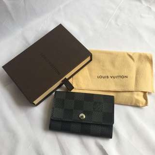 New LV multicles 6 damier graphite original