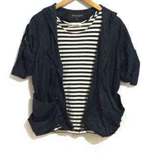 Blue navy outer