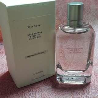 Zara Perfume Wood Boards