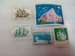 Poland Stamps Used
