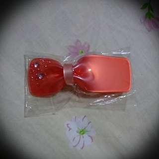 Swaroski Crystal Red Hair Clip