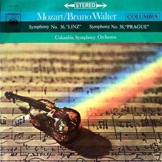 Mozart Bruno Walter Vinyl Record