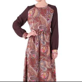 Poplook Bedelia Printed Chiffon Maxi Dress
