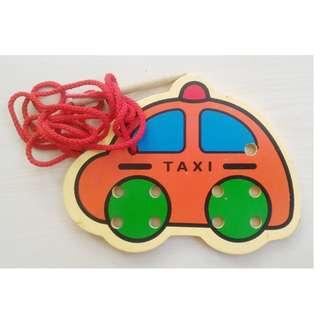 Mainan Kayu Mobil