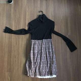 ZARA LONG SLEEVED DRESS