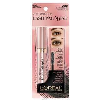 L'Oreal Lash Paradise Mascara (#200/#204)