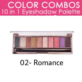 Color Combos 10 in 1 Eyeshadow Palette