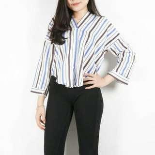 Stripe valen blouse