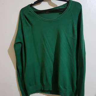Sfera Knitted Green Long Sleeves