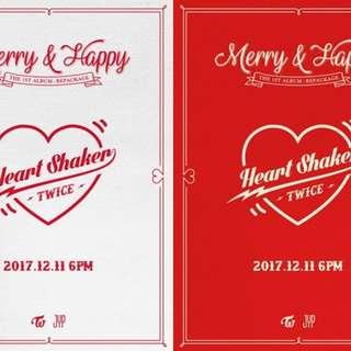Twice Repackaged Album (Heart Shaker)