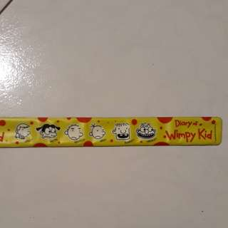 Diary of a wimpy kid slapband