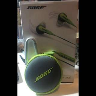 Bose SoundSport in-ear headphones (for Apple devices)