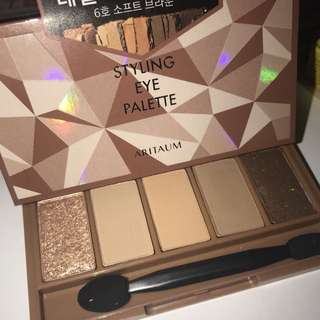 Aritaum styling eye palette 眼影6號色