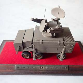 Scale Model of Surface to Air Missile System